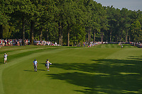 Phil Mickelson (USA) makes his way down 15 during 1st round of the 100th PGA Championship at Bellerive Country Cllub, St. Louis, Missouri. 8/9/2018.<br /> Picture: Golffile | Ken Murray<br /> <br /> All photo usage must carry mandatory copyright credit (© Golffile | Ken Murray)
