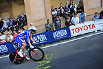 Olivier Le Gac (FRA) Groupama-FDJ on the San Luca climb during Stage 1 of the 2019 Giro d'Italia, an individual time trial running 8km from Bologna to the Sanctuary of San Luca, Bologna, Italy. 11th May 2019.<br /> Picture: Eoin Clarke | Cyclefile<br /> <br /> All photos usage must carry mandatory copyright credit (© Cyclefile | Eoin Clarke)