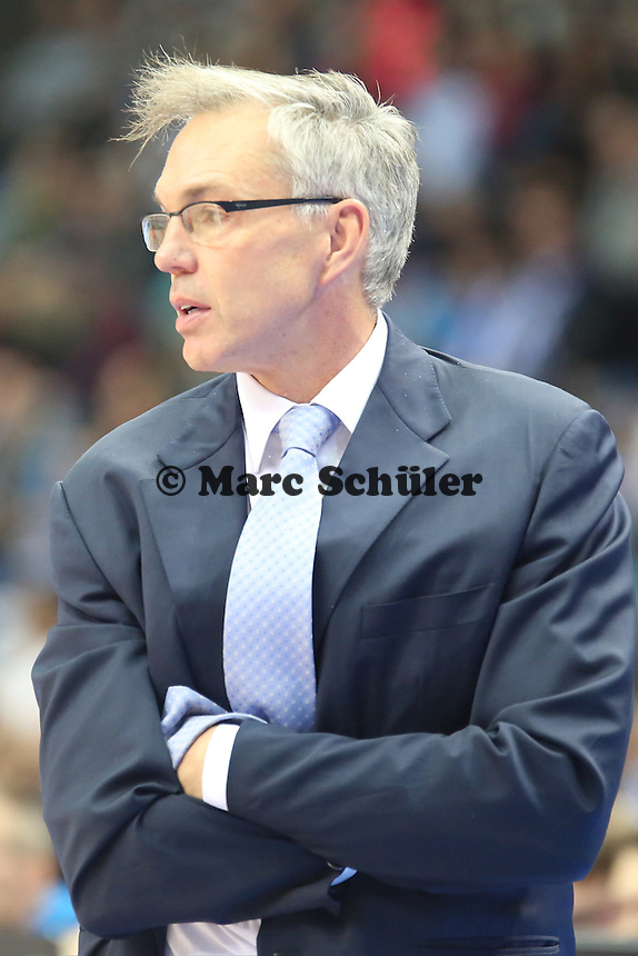 Head Coach Gordon Herbert (Skyliners) - Fraport Skyliners vs. s.Oliver Baskets Würzburg, Fraport Arena Frankfurt