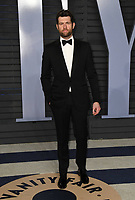 04 March 2018 - Los Angeles, California - Billy Eichner. 2018 Vanity Fair Oscar Party hosted following the 90th Academy Awards held at the Wallis Annenberg Center for the Performing Arts. <br /> CAP/ADM/BT<br /> &copy;BT/ADM/Capital Pictures