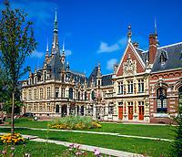 Frankreich, Normandie, Département Seine-Maritime, Fécamp: Benediktiner Palast | France, Normandy, Département Seine-Maritime, Fécamp: Benedictine Palace