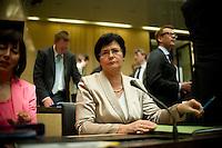 Berlin, Die Ministerpräsidentin von Thüringen, Christine Lieberknecht(CDU) am Freitag (07.06.13) im Bundesrat. Foto: Steffi Loos/CommonLens