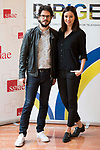 "Juanma R. Pachon and Dafne Fernandez attends to the photocall of the presentation of conferences ""Series juveniles que marcaron una generacion"" by Dirige Association in Madrid, Spain. March 27, 2017. (ALTERPHOTOS/BorjaB.Hojas)"