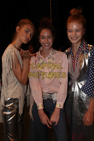 VIVIENNE TAM<br /> New York Fashion Week<br /> Ready to Wear, Spring Summer 16/17<br /> on September 12, 2016<br /> CAP/GOL<br /> &copy;GOL/Capital Pictures