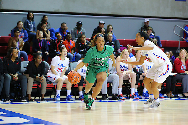 DALLAS TX, NOVEMBER 29: University of North Texas Mean Green Womens Basketball v SMU Mustangs at Super Pit -  UNT Coliseum  in Denton on November 20, 2016 in Dallas, TX. (Rick Yeatts)
