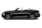 Car Driver side profile view of a 2018 Audi A5 Design 2 Door Convertible Side View