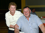 Mary Hand and Colm Finlay pictured at The Gathering in Ardee parish centre. Photo:Colin Bell/pressphotos.ie