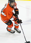 Jonathan Liau (Princeton - 10) - The Harvard University Crimson defeated the visiting Princeton University Tigers 5-0 on Harvard's senior night on Saturday, February 28, 2015, at Bright-Landry Hockey Center in Boston, Massachusetts.