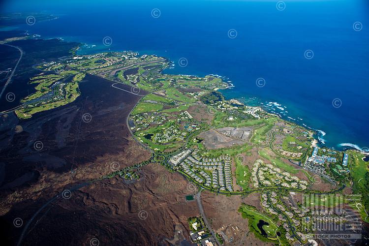 Aerial of Waikoloa Resort