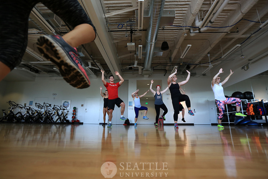 08212014- Seattle University URec fitness<br />