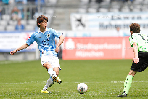 Yuya Osako (1860 Munchen), APRIL 6, 2014 - Football / Soccer : Second Bundesliga match between TSV 1860 Munchen 0-3 Karlsruher SC at Allianz Arena in Munich, Germany. (Photo by D.Nakashima/AFLO)