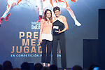 Politic Andrea Levy (l) and Alba Torrent's representative during the first edition of Spanish Basketball Awards. July 25, 2019. (ALTERPHOTOS/Francis Gonzalez)