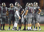Torrance, CA 09/19/15 - Tony Dacosta (Torrance #63), Juan Mosquera (Torrance #71), Jeffrey Saks (Torrance #75), unidentified Torrance player(s) in action during the Peninsula Panthers - Torrance Tartars Varsity football game at Torrance High School