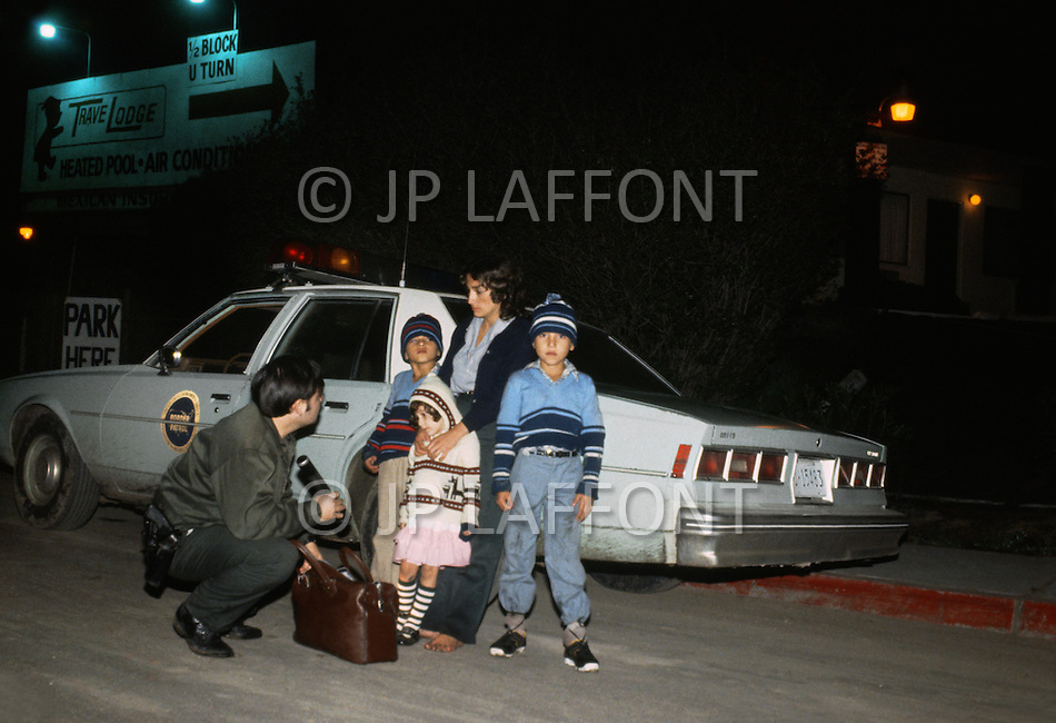 Tijuana, Mexico. January, 1983. <br />