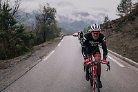 Gregory Rast (SUI/Trek-Segafredo)<br /> <br /> 76th Paris-Nice 2018<br /> Stage 7: Nice &gt; Valdeblore La Colmiane (175km)