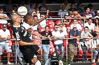 SÃO PAULO,SP,31 MARÇO 2013 - CAMPEONATO PAULISTA - SÃO PAULO x CORINTHIANS - jogador do São Paulo durante partida São Paulo x Corinthians válida pela 16º rodada do Campeonato Paulista no Estádio Cicero Pompeu de Toledo (Morumbi) na tarde deste domingo (31). FOTO ALE VIANNA - BRAZIL PHOTO PRESS.