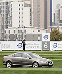 SUZHOU, CHINA - APRIL 15: Thaworn Wiratchant of Thailand tee off on the 6th hole during the Round One of the Volvo China Open on April 15, 2010 in Suzhou, China. Photo by Victor Fraile / The Power of Sport Images