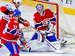 21 December 2008: Montreal Canadiens' goaltender Carey Price makes an overtime save against the Carolina Hurricanes at the Bell Centre in Montreal, Quebec, Canada. The Hurricanes defeated the Canadiens 3-2 in overtime. ***** Editorial Sales Only ***** Mandatory Photo Credit: Ed Wolfstein Photo