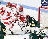 Holly Lorms (BU - 8), Jill Cardella (BU - 22), Roxanne Douville (Vermont - 34) - The Boston University Terriers tied the visiting University of Vermont Catamounts 2-2 on Saturday, November 13, 2010, at Walter Brown Arena in Boston, Massachusetts.