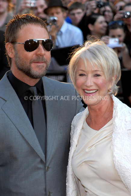 "WWW.ACEPIXS.COM . . . . .  ..... . . . . US SALES ONLY . . . . .....April 21 2009, London....Russell Crowe and Helen Mirren at the world premiere of ""State of Play"" held at The Empire Leicester Square on April 21 2009 in London....Please byline: FAMOUS-ACE PICTURES... . . . .  ....Ace Pictures, Inc:  ..tel: (212) 243 8787 or (646) 769 0430..e-mail: info@acepixs.com..web: http://www.acepixs.com"