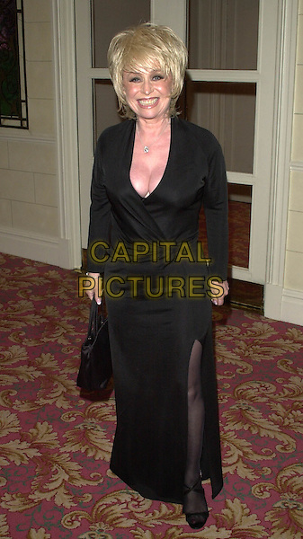 BARBARA WINDSOR.Royal Television Society Awards, Grosvenor House, London.long black dress, gown, cleavage.Ref: HT.www.capitalpictures.com.sales@capitalpictures.com.© Capital Pictures
