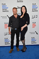 Ben Foster &amp; Laura Prepon at the 2017 Film Independent Spirit Awards on the beach in Santa Monica, CA, USA 25 February  2017<br /> Picture: Paul Smith/Featureflash/SilverHub 0208 004 5359 sales@silverhubmedia.com