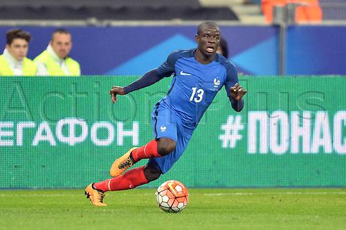 29.03.2016. Stade de France, Paris, France. International football friendly. France versus Russia.  N GOLO KANTE