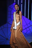 SAO PAULO, 11 DE AGOSTO DE 2012. MISS SAO PAULO 2012. A Miss Cordeiropolis, Layla Penas, desfila durante o concurso Miss Sao Paulo na noite deste sabado. FOTO - ADRIANA SPACA BRAZIL PHOTO PRESS