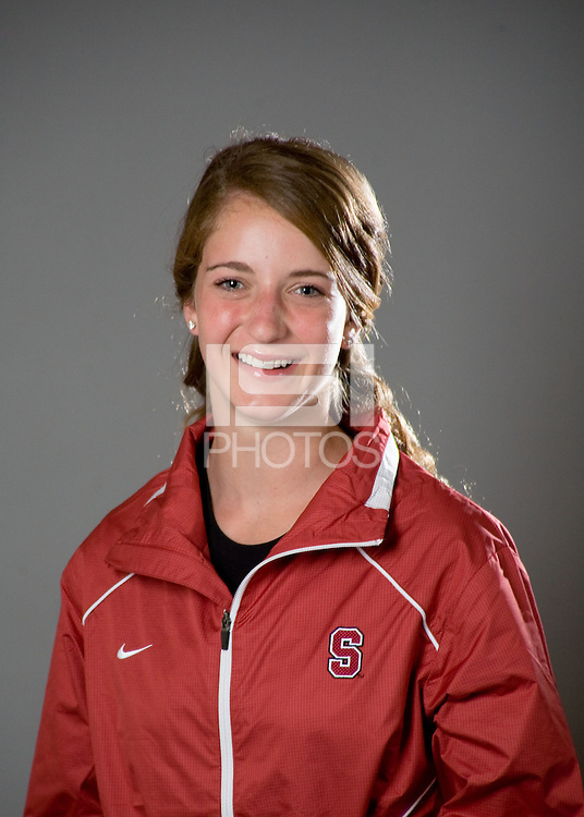 Jill Fisher of the Stanford diving team.