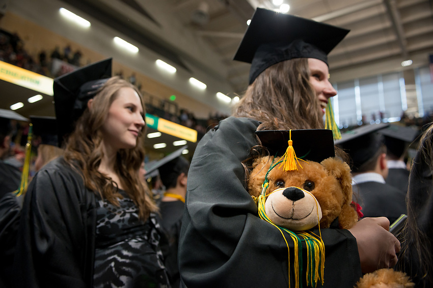 UAA Spring 2018 Commencement at the Alaska Airlines Center.