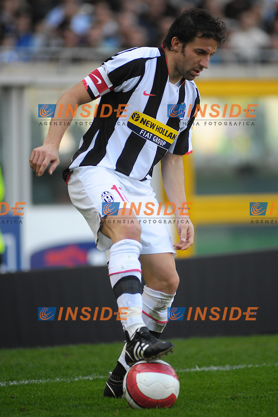 Alessandro Del Piero (Juventus) <br /> TORINO 02-03-2008 Stadio &quot;Olimpico&quot;<br /> Campionato Italiano Serie A<br /> JUVENTUS-FIORENTINA 2-3 <br /> Foto Massimo Insabato/Insidefoto