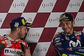 18th March 2018, Losail International Circuit, Lusail, Qatar; Qatar Motorcycle Grand Prix, Sunday race day;