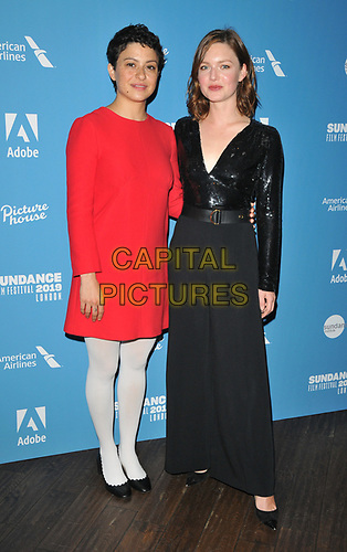 "Alia Shawkat and Holliday Grainger at the ""Animals"" Sundance London film festival European premiere, Picturehouse Central, Corner of Shaftesbury Avenue and Great Windmill Street, London, England, UK, on Friday 31st May 2019.<br /> CAP/CAN<br /> ©CAN/Capital Pictures"