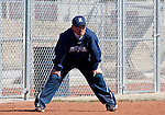 March 7, 2012:   Nevada Wolf Pack head coach Matt Meuchel during their NCAA softball game against the Sacramento State Hornets played at Christina M. Hixson Softball Park on Wednesday in Reno, Nevada.