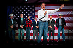 GOP presidential candidate Mitt Romney speaks at a campaign rally in Elko, Nevada, February 3, 20112.