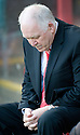 ABERDEEN MANAGER CRAIG BROWN BEFORE THE GAME