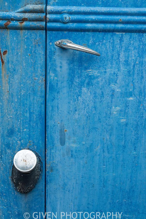 Door on old truck, Washington