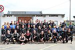 """Before the Swim at the Clogherhead """"Round the Head Swim""""....(Photo credit should read Jenny Matthews/NEWSFILE)..."""