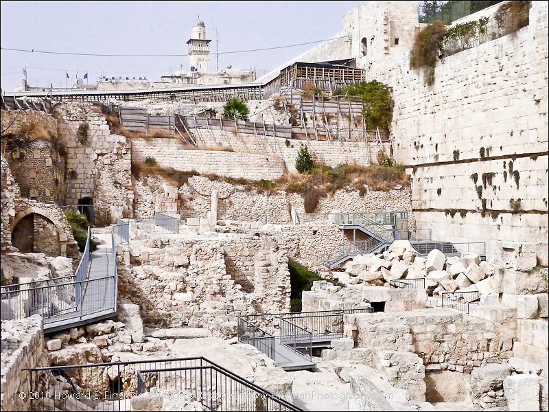 Layers of History, Western Wall, Old Jerusalem