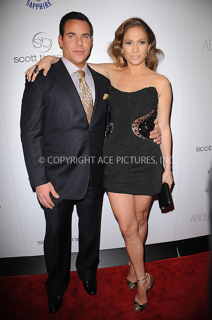 WWW.ACEPIXS.COM . . . . . ....January 20 2010, New York City....Makeup artist Scott Barnes and actress Jennifer Lopez arriving at the launch party for Scott Barnes' 'About Face' book at Provocateur at The Hotel Gansevoort on January 20, 2010 in New York City.....Please byline: KRISTIN CALLAHAN - ACEPIXS.COM.. . . . . . ..Ace Pictures, Inc:  ..tel: (212) 243 8787 or (646) 769 0430..e-mail: info@acepixs.com..web: http://www.acepixs.com