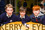Pupil's from St Brendan's NS Blenerville, Nathan Costello, Dillon Griffin and Tom Brett. at the Primary schools science quiz  ITT South Campus on Thursday