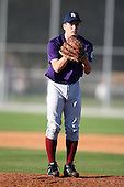 December 28, 2009:  Ryne Cook (6) of the Baseball Factory Tigers team during the Pirate City Baseball Camp & Tournament at Pirate City in Bradenton, Florida.  (Copyright Mike Janes Photography)