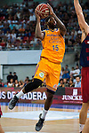 Herbalife Gran Canaria's player Royce O'Neale during the final of Supercopa of Liga Endesa Madrid. September 24, Spain. 2016. (ALTERPHOTOS/BorjaB.Hojas)