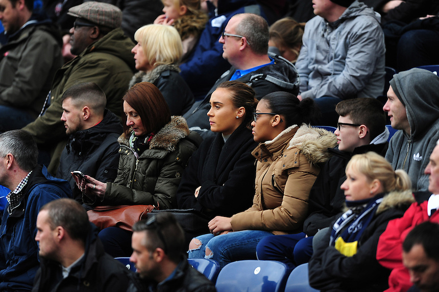 Preston North End fans during the second half<br /> <br /> Photographer Chris Vaughan/CameraSport<br /> <br /> Football - The Football League Sky Bet Championship - Preston North End v Queens Park Rangers - Saturday 19th March 2016 - Deepdale - Preston <br /> <br /> &copy; CameraSport - 43 Linden Ave. Countesthorpe. Leicester. England. LE8 5PG - Tel: +44 (0) 116 277 4147 - admin@camerasport.com - www.camerasport.com