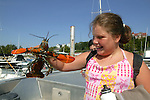 Tia Sherburne W/ Lobster