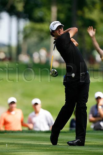 14 August 2009:  Adam Scott of Australia during the second round of the 91st PGA Championship at Hazeltine National Golf Club in Chaska, Minnesota. (Photo:Charles Baus/Actionplus)