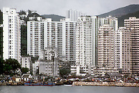Hong Kong: High-rise housing. Photo '81.