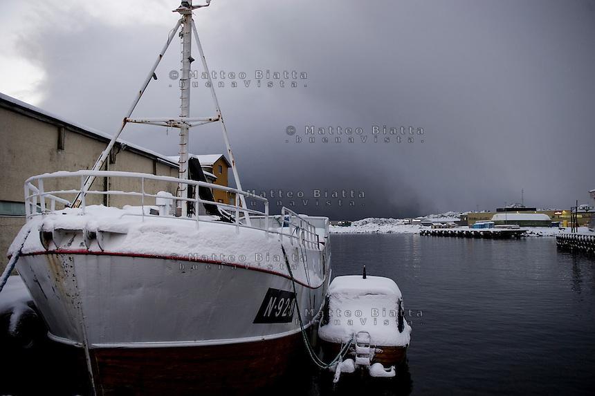 Isole Lofoten nella foto Svolv&aelig;r geografico Svolv&aelig;r 15/02/2016 foto Matteo Biatta<br /> <br /> Lofoten Islands in the picture Svolv&aelig;r geographic Svolv&aelig;r 15/02/2016 photo by Matteo Biatta