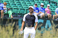 Joel Stalter (FRA) on the 1st tee to start his match during Friday's Round 2 of the 117th U.S. Open Championship 2017 held at Erin Hills, Erin, Wisconsin, USA. 16th June 2017.<br /> Picture: Eoin Clarke | Golffile<br /> <br /> <br /> All photos usage must carry mandatory copyright credit (&copy; Golffile | Eoin Clarke)