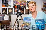 Julie Ormonde with her two new books on Astronomy which will be launched this Friday at 7pm in Tech Amergin Waterville.